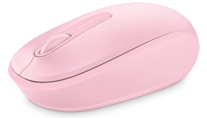 Microsoft 1850 Wireless Mouse (Light Orchid Pink)