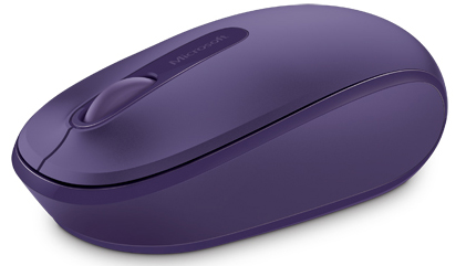 Microsoft 1850 Wireless Mouse (Purple)