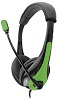 Avid AE-36 On-Ear Headset with Mic (Green)
