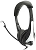 Avid AE-36 On-Ear Headset with Mic (White)