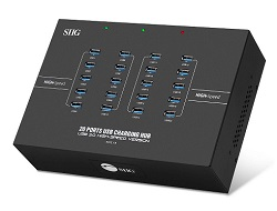 SIIG 20-Port Industrial USB 3.0 Hub With Charging LARGE