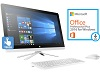 "HP 24-G209 23.8"" Touchscreen Intel Pentium 8GB All-in-One Desktop w/Office 2016 (Refurb)"