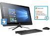 "HP 24-G219 23.8"" Touchscreen Intel Pentium 8GB All-in-One Desktop w/Office 2016 (Refurb)"