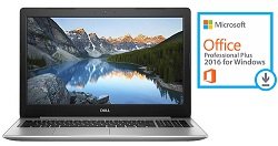 "Dell Inspiron 15-5570 15.6"" Intel Core i5 8GB RAM Notebook PC w/MS Office Pro 2016 (Refurb)"
