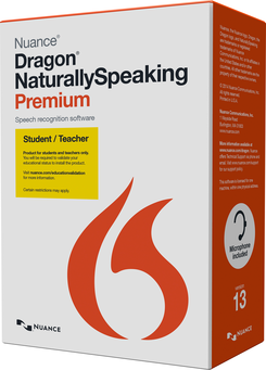 Nuance Dragon Naturally Speaking Premium 13.0 Student & Teacher