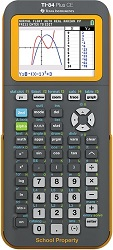 Texas Instruments TI-84 Plus CE Graphing Calculator (EZ Spot Teacher Pack) LARGE