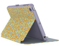 Speck StyleFolio Case for iPad Mini 4 (Kurbits Floral Orange/Heather Grey) (While They Last!)