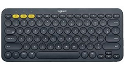 Logitech K380 Multi-Device Bluetooth Keyboard (Grey) LARGE