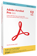 Adobe Acrobat Professional 2020 for Mac & Windows (DVD) THUMBNAIL