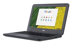 "Acer Chromebook 11 N7 C731 11.6"" Intel Celeron 4GB RAM 32GB (On Sale!) LARGE"