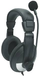 Avid SMB-25 Noise Cancelling Over-Ear Lab Headset with Mic