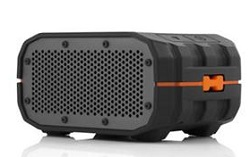 Braven BRV-1 Wireless Bluetooth Speaker with FREE Backpack (Black/Orange)