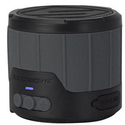 Scosche boomBOTTLE mini Rugged Wireless Bluetooth Speaker (Grey)