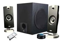 Cyber Acoustics CA-3090 2.1 Speaker System LARGE