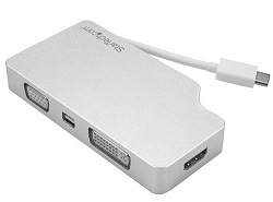 StarTech 4-in-1 Aluminum Travel A/V Adapter (On Sale!) LARGE
