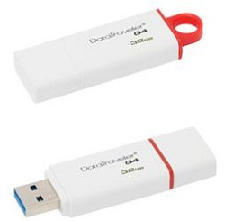 Kingston DataTraveler G4 32GB USB 3.0 Flash Drive (On Sale!)