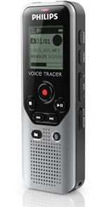 Philips Voice Tracer DVT1200 4GB Digital Voice Recorder (On Sale!)