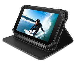 "Ematic Universal Folio Case for 7"" Tablets LARGE"