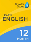 Rosetta Stone English (American) 12 Month Subscription for Windows/Mac 1-2 Users, Download