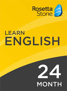 Rosetta Stone English: 24 Month Subscription for Windows/Mac 1-2 Users, Download