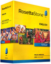 Rosetta Stone English (American) Level 1-3 Set DOWNLOAD - WINDOWS