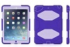 Griffin Survivor All-Terrain Case for iPad Air with FREE Bluetooth Speaker (Purple/Lavender)