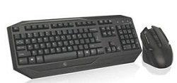IOGEAR Kaliber Gaming Wireless Gaming Keyboard and Mouse Combo LARGE