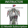 A.D.A.M. Interactive Physiology 10-System Suite Online - Instructor Version (1 YR Sub)