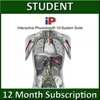 A.D.A.M. Interactive Physiology 10-System Suite Online - Student Version (1 YR Sub)