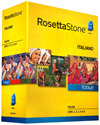 Rosetta Stone Italian Level 1-5 Set DOWNLOAD - MAC