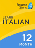 Rosetta Stone Italian 12 Month Subscription for Windows/Mac 1-2 Users, Download