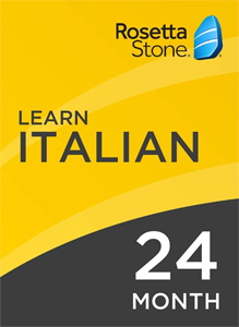 Rosetta Stone Italian: 24 Month Subscription for Windows/Mac (Download) LARGE
