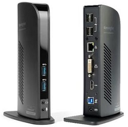 Kensington USB 3.0 Docking Station with Dual DVI/HDMI/VGA Video LARGE