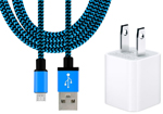 6-Foot Lightning Cable with USB Adapter for iPhone.