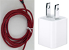 6-Foot Lightning Cable with USB Adapter for iPhone. Mini-Thumbnail