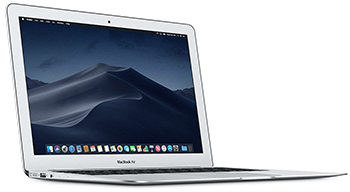 "Apple MacBook Air MQD32LL/A 13.3"" Laptop 1.8MHz/8GB/128GB (2017 Refurbished) LARGE"