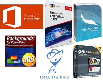 Microsoft Office 2019 Pro Plus for Students Essentials Bundle (Windows Download)