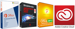 Microsoft Office 2013 with Adobe Creative Cloud Faculty Value Bundle - Windows