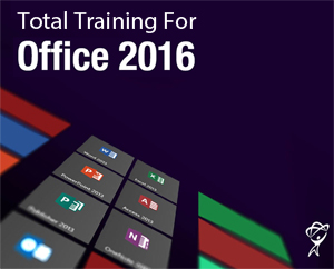 Total Training Online for Microsoft Office 2016 - 60 Day Access LARGE