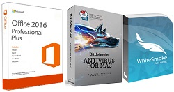 Microsoft Office 2016 with AntiVirus & Grammar Bundle (Student Download) - MAC