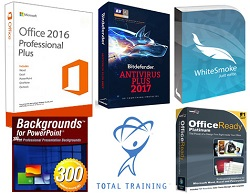 Microsoft Office 2016 Pro Plus for Students Ultimate Essentials Bundle (Download) (Windows)
