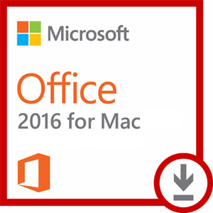 Microsoft Office 2016 for MAC - Students (Download) LARGE