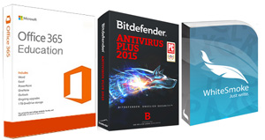 Antivirus and Grammar Check Bundle with FREE Microsoft Office 365 Education (Win)