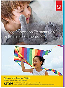 Adobe Photoshop Elements 2020 & Premiere Elements 2020  (Back-Up DVD) - <i>What's this?</i> LARGE