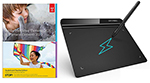 "Adobe Photoshop & Premiere Elements 2021 Student Ed. (DVD) with XP-Pen 6x4"" Design Tablet - WIN/MAC THUMBNAIL"