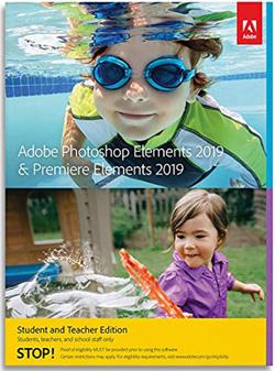 Adobe Photoshop Elements 2019 & Premiere Elements 2019 Student
