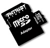 Patriot Memory Class 10 High Capacity SDHC Card with Adapter 16GB