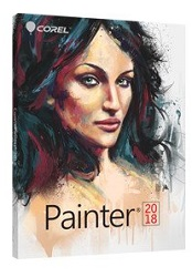 Corel Painter 2018 (DVD) - Special Price when purchased with Any Adobe Product or Wacom Tablet