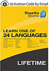 Rosetta Stone - Learn one of 24 Languages - Lifetime Access THUMBNAIL