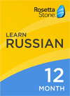 Rosetta Stone Russian 12 Month Subscription for Windows/Mac 1-2 Users, Download